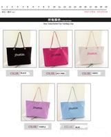 2014 New Women bagPersonality joker tide canvas letter hand the bill of lading shoulder large capacity female bag B-004