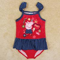 baby girls swimwear children kids swimwear peppa pig swimwear kids bikini girls toddler swimwear peppa baby girl swimsuit R4786