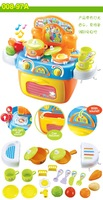 Play House Toys Baby Children Tableware Kitchen Toy Set Early Educational Tool Free Shipping