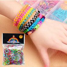 Fun loops DIY popular elastic magnetic rubber band Popular Multiple Colors Creative Bracelet Hand Making Tool ZMPJ001F#M4(China (Mainland))