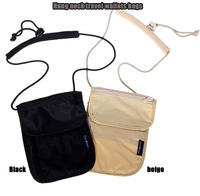 promotion women/men Hang neck travel wallets bags porte monnaie passport holder dollar price purse double zipper short wallet