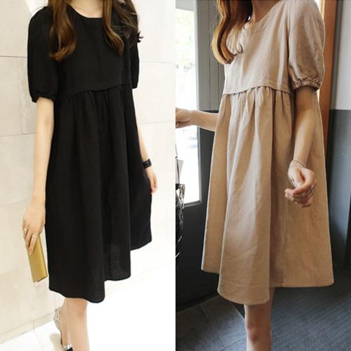 Comfortable Cotton Breastfeeding Dress Autumn/Summer Plus Size Multicolor Pregnant Women Nursing/Feeding Dresses Nurse Clothing