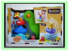 Varejo favoritos do banho do bebê brinquedos do jogo Torneiras Pulverização Buttressed chuveiro de água do banheiro Brinquedos(China (Mainland))