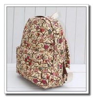 Free Shipping 2013 NEW Owl Backpack Female Bags Canvas Cartoon Backpack Casual School Bag AK141