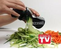 Free Shipping NEW Vegetable Spiral Slicer Spirelli Kitchen Spiralizer Julienne Cutter Carrots