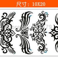 GJ45 (Minimum order $ 3,Can be mixed batch) Body Art Stencil Designs Waterproof Temporary Tattoo  Totems tattoo