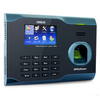 "ZK U160,3"" Biometric Attendance Fingerprint Time Clock + TPC/IP + USB"
