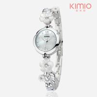 KIMIO Women's Fashion Bracelet Rhinestone Watches MIYOTA 2035 Japan Movt,3ATM Water Resistant,12-month Guarantee
