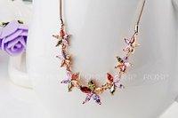 2014 Sale Pendant Necklace Fashion New Arrival, Genuine Austrian Crystal,fashion Women.party Necklaces,chrismas/birthday Gift
