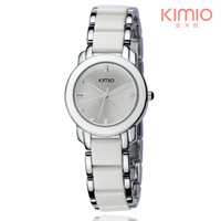 Top Sale! KIMIO Women's Ceramic Bracelet Watches MIYOTA 2035 Japan Movt,3ATM Water Resistant,12-month Guarantee