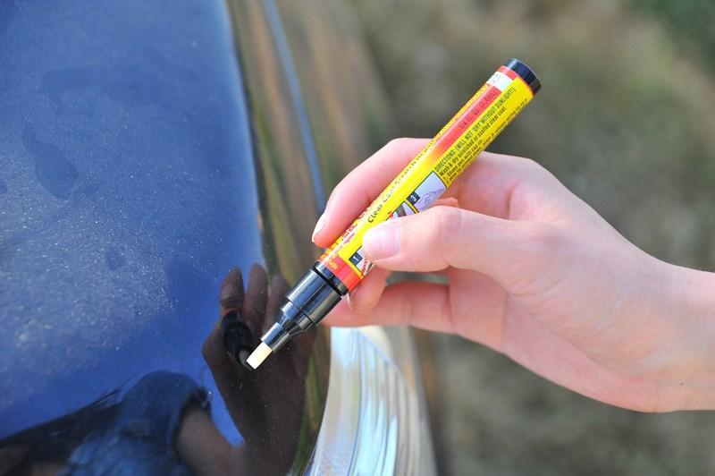 10pcs/lot New Portable Fix It Pro Clear Car Scratch Repair Remover Pen Singapore Shipping Wholesale(China (Mainland))
