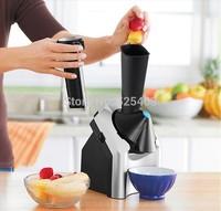 Máy làm kem mini, máy làm kem hoa quả tại nhà, máy làm kem tươi hoa quả, máy xay