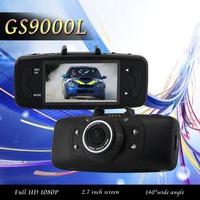 100% Original GS9000L NOVATEK Chipset HD 1080P 2.7' LCD 140 Degree Lens Car Vehicle Black Box Cameras Recorder DVRS G-Sensor