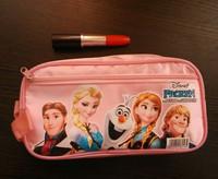 1pc A Cute Cartoon Princess Frozen Pencil Bag Pen Pouch Stationery Pink School Supplies material escolar pencil-case Party Favor
