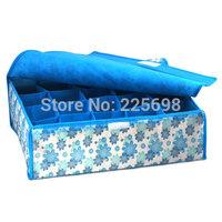 Printing 16 soft cover  underwear  glove acrylic makeup organizer  Storage  box