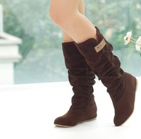 Free shipping 2014new the new winter boots The autumn fair maiden documentary boots Can be customized big yards