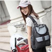Free shipping Backpack fashion mother bag double-shoulder nappy bag multifunctional liner infanticipate mami bag bolsa de bebe