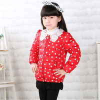 2014 new European and American classic cartoon series of children's clothing for girls 100% cotton cardigan jacket outside