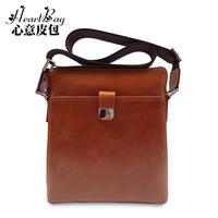 Vertical shoulder bag messenger bag male messenger bag genuine leather bag man commercial cowhide casual bag