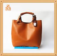 Latest Classic Brand Design Cowhide Leather Handbag,High Grade Retro Shoulder Bag,4 Colors Casual Wristlets,Bolsas de Ombro B134