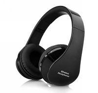 Foldable Wireless Bluetooth Stereo Headset Handsfree Headphones earphone Mic For iPhone