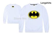 2014 Direct Selling Real Freeshipping Regular Full Tracksuits Moleton Masculino Moletons Batman Logo Shirts Men's Casual Sweater