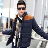 Winter men's coat stand down jacket plus size clothes M-3XL