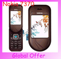 7370 Original Unlocked Nokia 7370 mobile phone Bluetooth Camera Vedio FM Classic Cheap Cell phone refurbished 1 year warranty