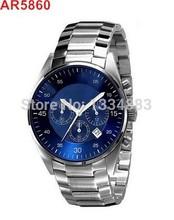 AR5860 Blue Face/AR5869 White Face  Quartz Chronograph Mens Watch  With Original Box,AR5860/AR5869