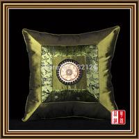 PCS10-6 100% silk Luxury Factory Wholesale Free Shipping Square Pillowcase Pillow Cover Cushion Case Satin Bed Sofa car Decor