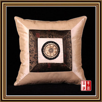 PCS10-5 100% silk Luxury Factory Wholesale Free Shipping Square Pillowcase Pillow Cover Cushion Case Satin Bed Sofa car Decor