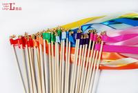 FREE SHIPPING--100pcs of Wedding Ribbon Wands,Wedding Confetti Stream Ribbon Sticks Wands