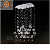 2014 New arrived Crystal chandeliers Candle light Modern Restaurant light fixtures lamps home Art Deco lights 110V/220V JD9112-6