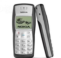 free shipping 1100 Refurbished Original Unlocked Cell Phone 1 year warranty+Battery+Charger