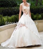 Hot selling !!! white/ivory wedding dress custom size