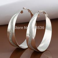 Free Shipping Wholesale fashion jewelry Earrings ,925 Sterling silver Earrings .  QE463