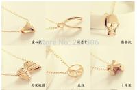 necklace- wishbone necklace