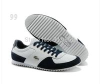 Crocodile Shoes Men 2013 New Brand Male Low Top Casual Shoes Men Outdoor Lace Sport Shoes Original Package Size:41-45