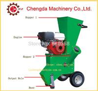 Chengda factory supply QMJ16 diesel engine driving cut wood machine wood chipper