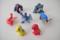 100pcs/lot   cool style  monster pvc toy boy gift