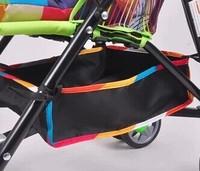 Maclaren New baby Stroller Accessories Storage Basket Botton Net Bag Size30*30*10cm