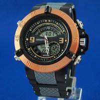 Free Shipping OHSEN Digital+Analog Quartz Watch Waterproof LCD Backlight Men's Sport Watch AD2811-5
