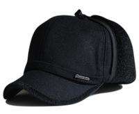 Long ears protection plush warm bomber hat women thickening mink baseball cap male visors 1pcs free shipping