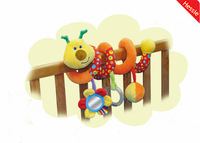 Hessie Brand Baby Toys New Kawaii Bear Design 1Pcs/Lot Multifunctional Baby Rattle Toy Baby Mobile Bed Bell Free Shipping