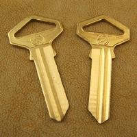 A002 Wholesale Brass House Door Key Blank Keys