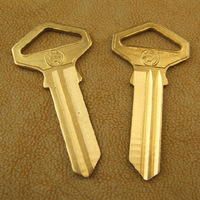 A002 Wholesale Brass House Door Key Blank Keys