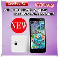 5'' Coolpad F1 (8297W) WCDMA MTK6592 Octa Core Android Phone 2GB RAM 8GB ROM Camera 13MP