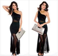 Clothing black short-sleeve lace slim hip lace racerback ultra-short one-piece dress