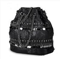 New 2014 genuine leather women leather handbags sheepskin one shoulder bags bolsas femininas