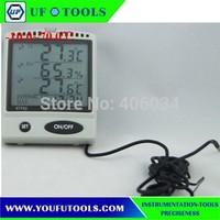 AZ 87792 Desktop  Type Digital Hygrometer -10 - 70 degree/ IN/OUT temp. & RH% Monitor